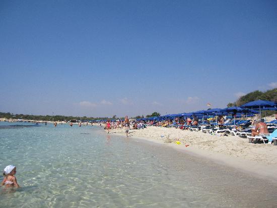 Christofinia Hotel: Landa Beach, très très bien !!!