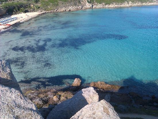 la plage Rena Bianca face a l\'hotel - Picture of La Terrazza di ...