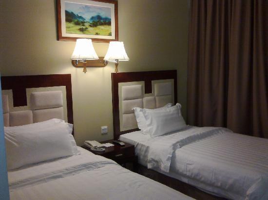 โรงแรมกาย่าเซนทรี่: Gaya Centre Hotel: Twin bedded room