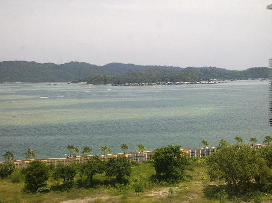 โรงแรมกาย่าเซนทรี่: Gaya Centre Hotel: Sea view from the room