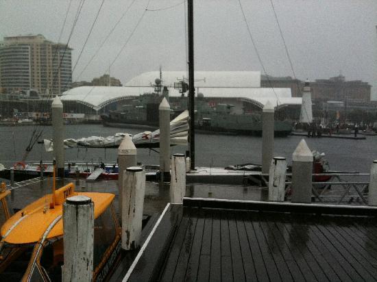 Explore Sailing - America's Cup Sailing Experience: Rain