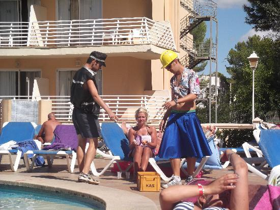 Playa de Palma, สเปน: The entertainers - very friendly and funny