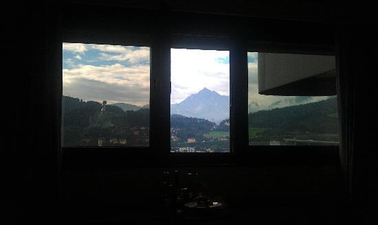 โรงแรม ฮิลตัน อินน์ซบรุค: What a view!