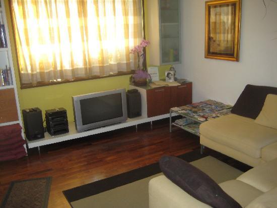 B&B Villa Beatrice: Living room