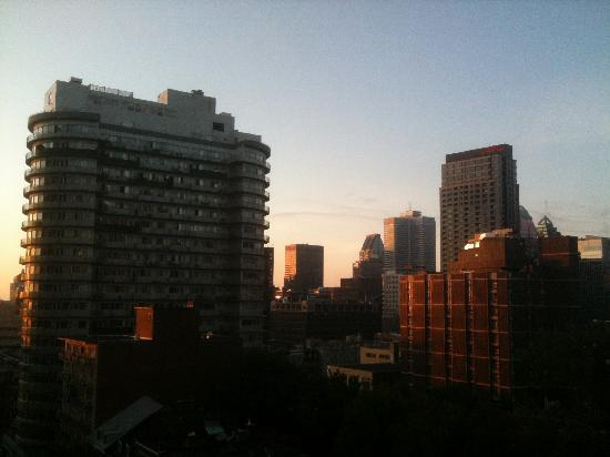 Appartements Trylon: Early morning from my balcony.