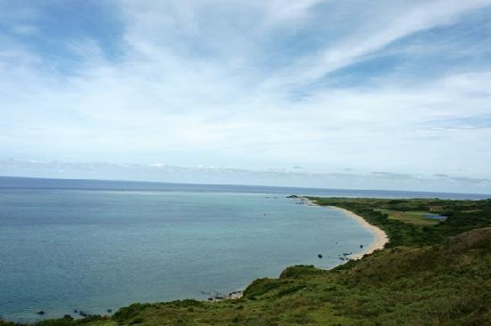 Cape Hirakubozaki: 広がる空と海