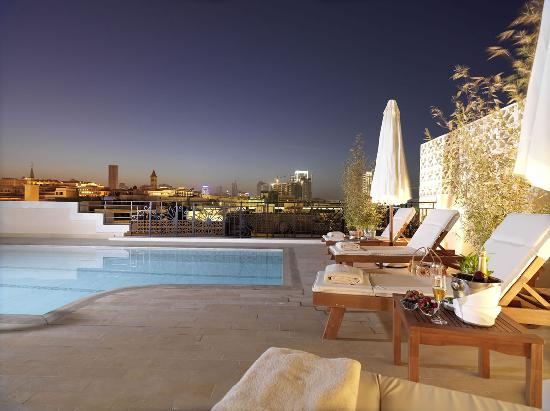 Le Patio Boutique Hotel: Pool