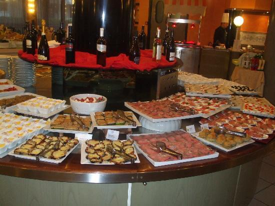Hotel Cesare Augustus: Small selection of starters