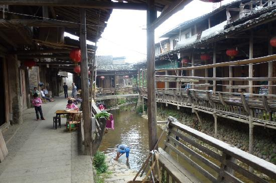 Xiamei Ancient Dwellings : Daily life in Xiamei