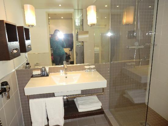 โมเวนพิคโฮเต็ล อัมสเตอร์ดัมซิตี้เซ็นเตอร์: the bathroom
