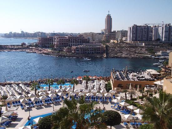 Corinthia Hotel St. George's Bay: Balcony view