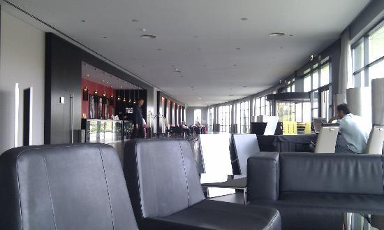 วีล่า เกล ลากอส โฮเต็ล: Hotel reception