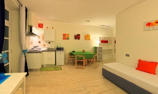 La Villa del Mare: Apartment with kitchen
