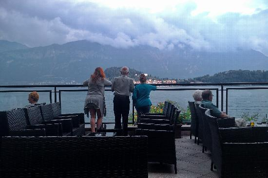 Grand Hotel Cadenabbia: Great view over to Bellagio
