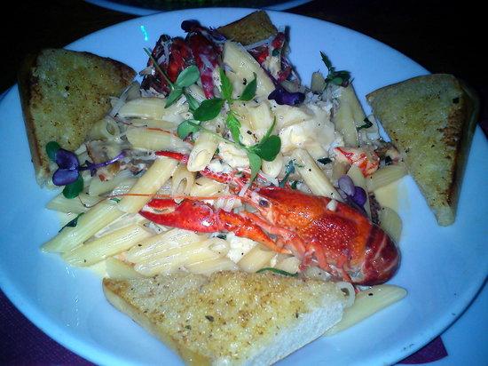 Platform Tavern: Penne with seafood - Best dish EVER!