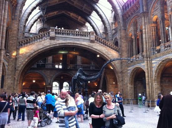 พิพิธภัณฑ์ประวัติศาสตร์ธรรมชาติ: inside