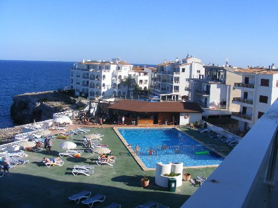 BelleVue Belsana: pool view from room
