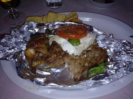 Lithakia, Greece: Lamb Kleftiko