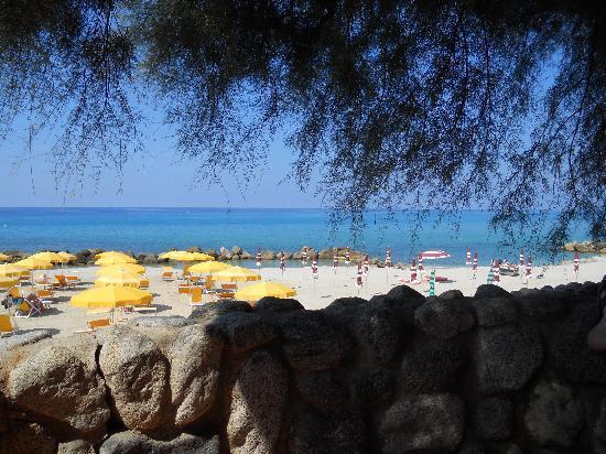 Baia del Sole Resort: Uitzicht op zee vanuit hotel