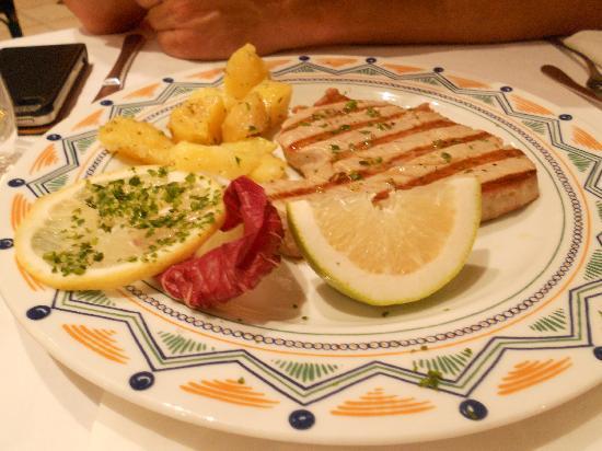 Baia del Sole Resort: Heerlijke tonijn