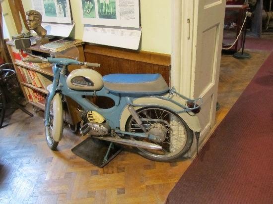 Museum of Communism: example of transport during the communism yaers