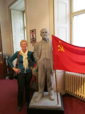 Museum of Communism: one of the statues