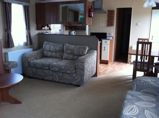 Hendra Holiday Park: Watergate caravan