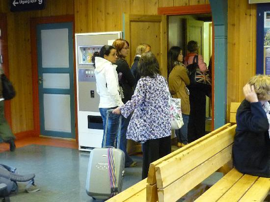 Fjord Tours: in fila per il bagno