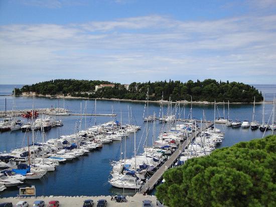 Hotel Park: The harbour & St Katerina
