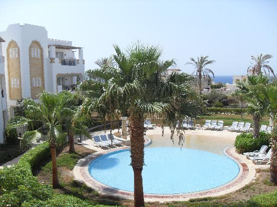 Tiran Island Hotel: View from Room 1128