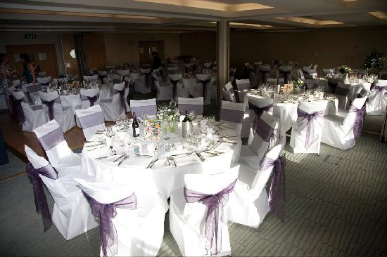 Bedruthan Hotel & Spa: Venue all decked out