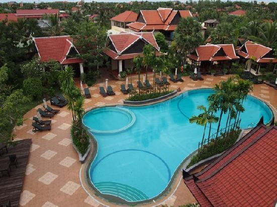รีสอร์ท&สปาโบเร อังกอร์: Pool view from room