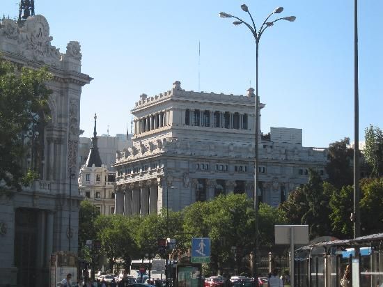 CentroCentro Cibeles: in front of the palace