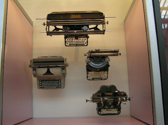 พิพิธภัณฑ์แห่งชาติสก็อตแลนด์: Typewritors