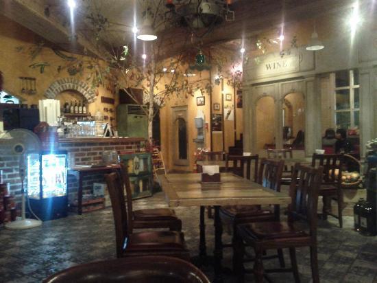 Inside Zio Ricco's