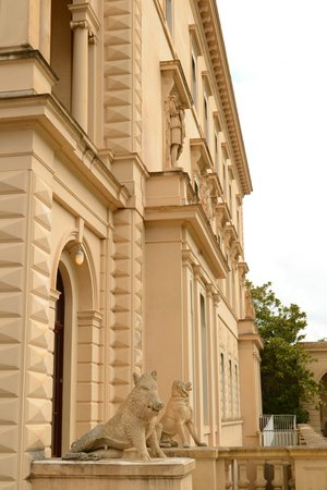 Osborne House: Visitors' entrance