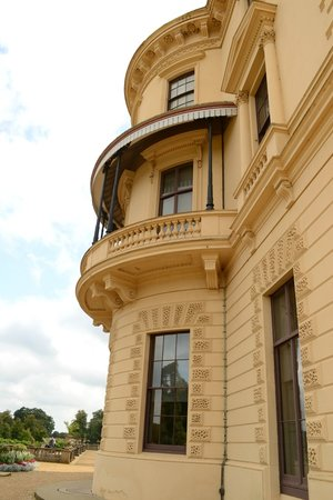 Osborne House: Balcony detail