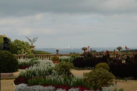 Osborne House: View of Portsmouth Skyline