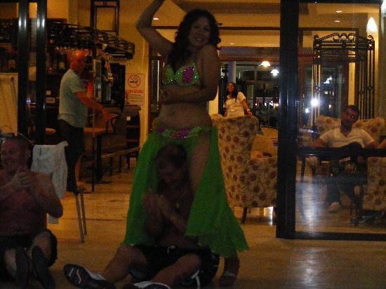 Kapmar Hotel: turkish night at kapmar