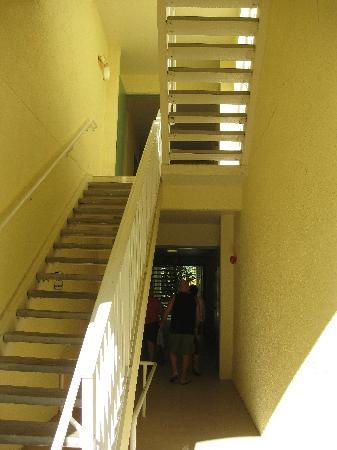 Cane Island Resort: Stair Well