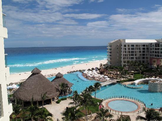 The Westin Lagunamar Ocean Resort Villas & Spa, Cancun: View from unit 376