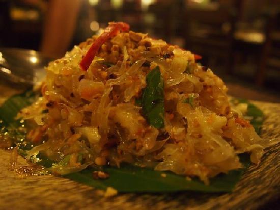 The Sugar Palm: Entree - Pomelo Salad