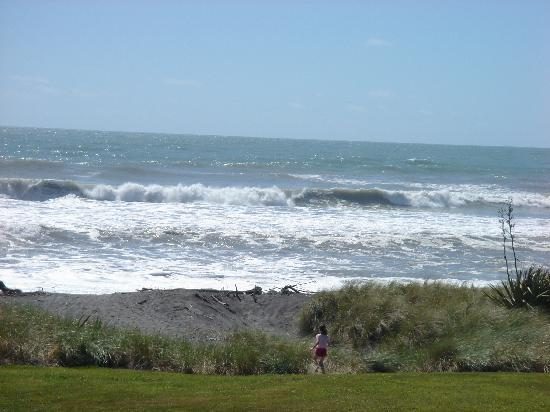 Beachfront Hotel Hokitika: View from the room