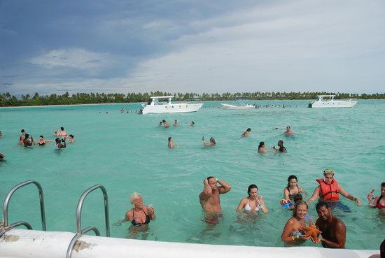 Isla Saona: Natural pool