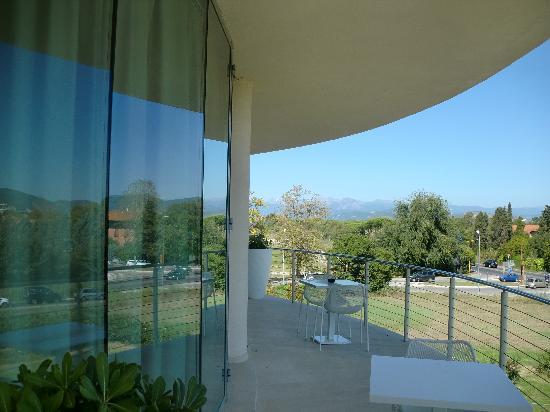 Allegroitalia Pisa Tower Plaza: Our Suite's veranda facing Old City