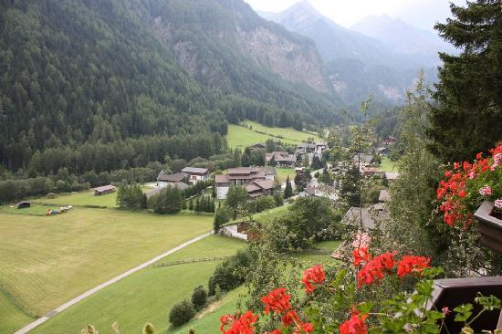 Landhotel Post Heiligenblut: Uitzicht balkon Post Hotel Heiligenblut