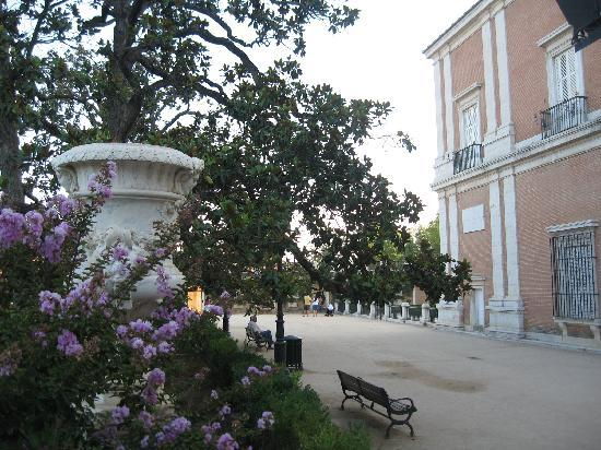 Royal Palace of Aranjuez: Parte trasera