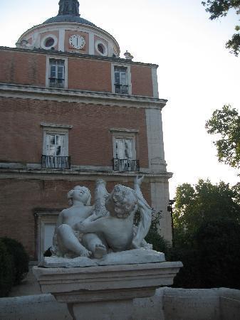 Royal Palace of Aranjuez: Costado derecho