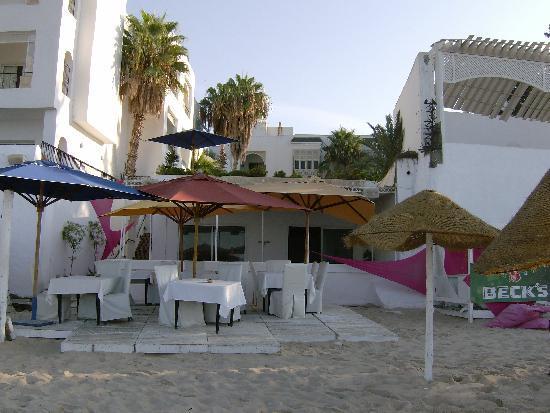 Hotel Dar Hayet: le restaurant
