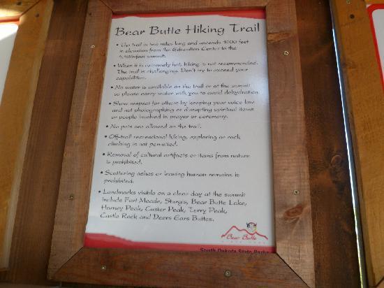 Bear Butte State Park: bear butte info